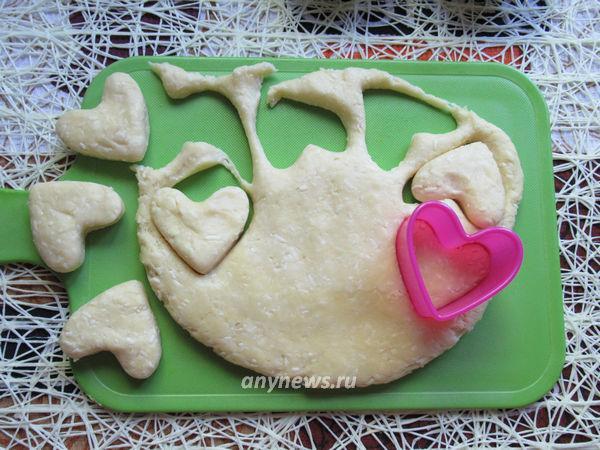 Печенье из плавленных сырков с орехами