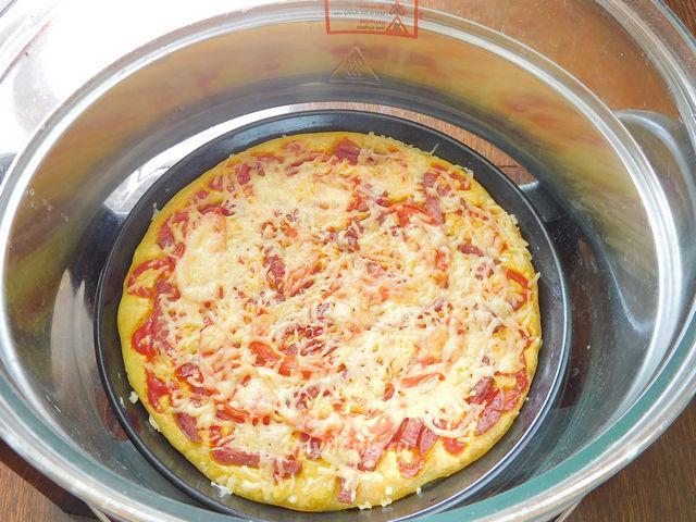Готовим пиццу в аэрогриле