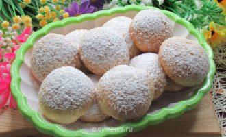 Творожно-кокосовое печенье - рецепт с фото