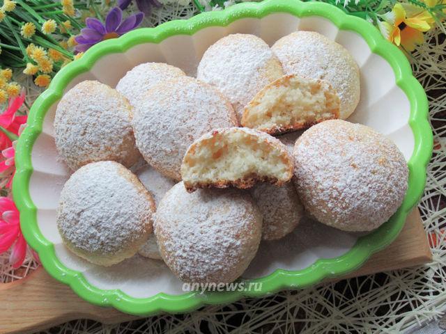 Творожно-кокосовое печенье в домашних условиях