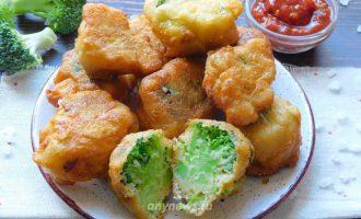 брокколи в кляре - рецепт