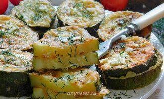 кабачки кружочками жареные на сковороде в муке - рецепт