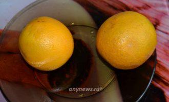 Малиновое варенье с апельсином