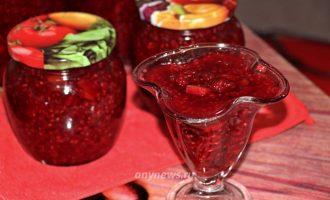 Малиновое варенье с апельсином - рецепт с фото