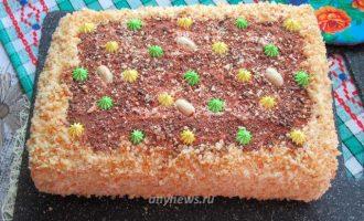 торт Молочная девочка с кремом - рецепт