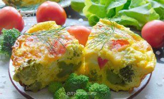 Запеканка из брокколи в духовке - рецепт с фото
