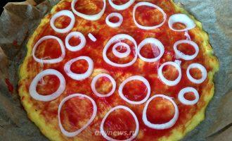 Кабачковая пицца в духовке с сыром