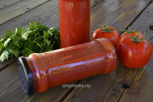 Томатный кетчуп в домашних условиях - рецепт с фото