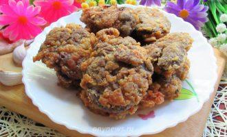 куриная печень жареная на сковороде - рецепт с фото