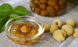 Варенье из желтой малины - рецепт с фото