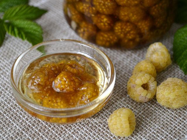 Варенье из желтой малины на зиму