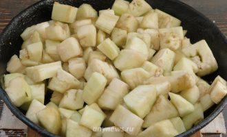 Баклажаны жареные на сковороде как грибы