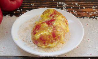Чушка бюрек - сладкий перец, фаршированный сыром