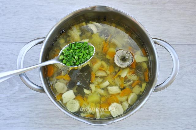 суп из свежих белых грибов - варим суп