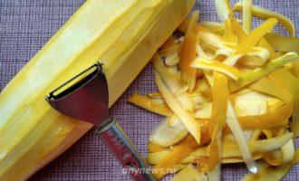 Картофельная запеканка с кабачками и помидорами