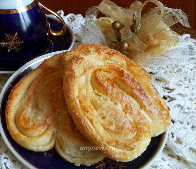 Дрожжевые плюшки с сахаром - пошаговый рецепт