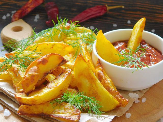 Картошка фри в аэрогриле - рецепт с фото