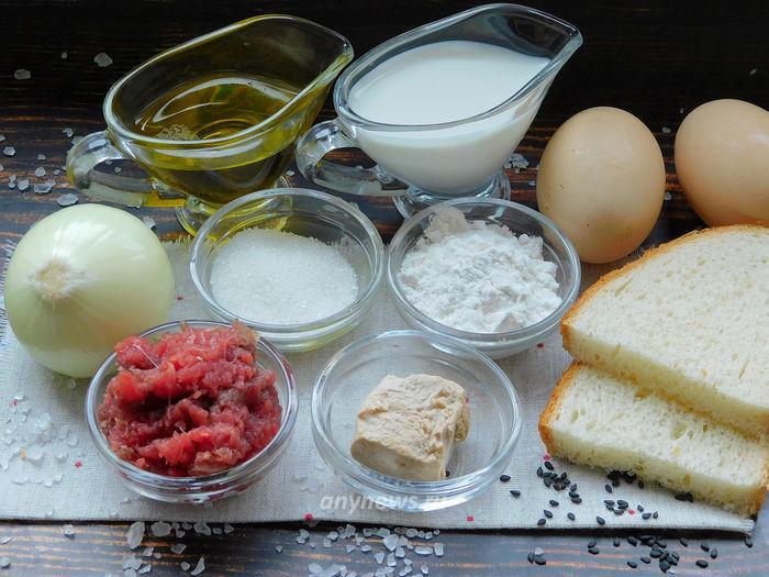 Котлеты в тесте в духовке - ингредиенты