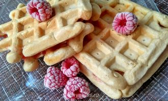 Венские вафли в вафельнице электрической - рецепт с фото