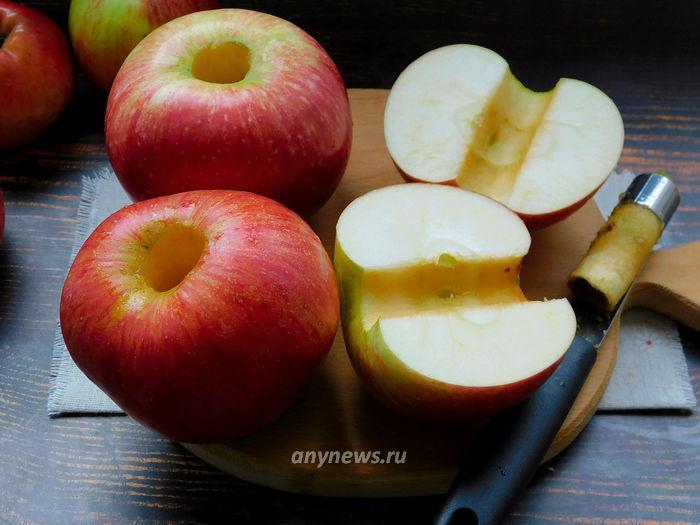 Зефир на пектине - чистим яблоки